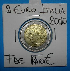 2 €URO ITALIA 2010 DANTEFDC-UNCIRCULATED SIGILLATE OBLO OTTIMA COMPRA SUBITO - Italia - 2 €URO ITALIA 2010 DANTEFDC-UNCIRCULATED SIGILLATE OBLO OTTIMA COMPRA SUBITO - Italia