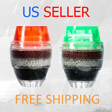 2 x Coconut Carbon Home Household Kitchen Faucet Tap Water Clean Purifier Filter