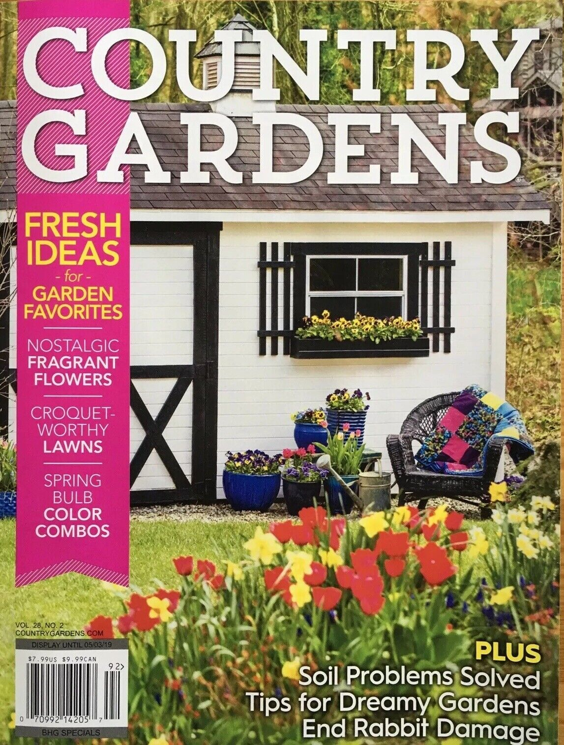 Country Gardens Magazine New Spring 2019 Issue For Sale Online