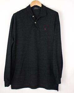 Polo Ralph Lauren Herren Freizeit Polohemd Sweatshirt Pullover Größe L ASZ811