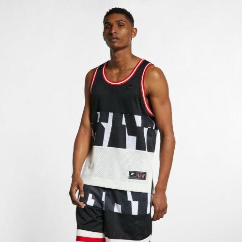Nike Air Mesh Tank Mens Black Tee Top Sportswear Activewear AR1843-010