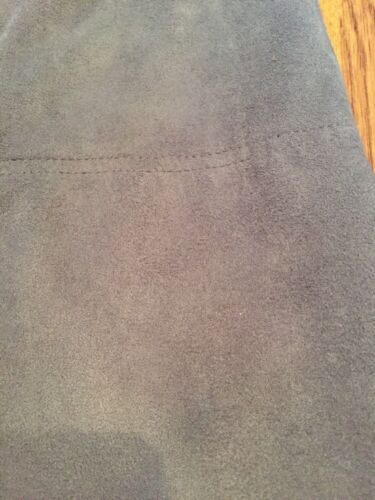 Effetto effetto Warehouse posteriore scamosciato 14 zip scamosciato Nuovo posteriore morbido Uk grigio Ladies con B5wnxqTB