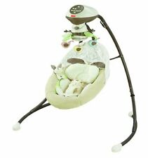 NEW Snugabunny Cradle 'N Swing with Smart Swing Technology By Fisher-Price