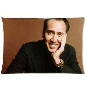 Fashion-Custom-Home-Decor-Pilllowcase-Nicolas-Cage-Pillow-Case-Cover-20x30-Inch