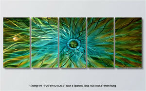 Modern-Original-Metal-Wall-Art-Shining-Abstract-Indoor-Outdoor-Decor-by-Artist