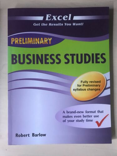 1 of 1 - Excel HSC Business Studies by Robert Barlow (Paperback, 2012)