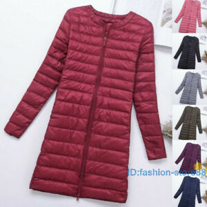 Woman-Down-Puffer-Jacket-Coat-Autumn-Winter-Duck-Down-Ultra-Light-Quilted-parka
