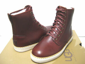 Mens Shoes UGG Braun Cordovan Leather