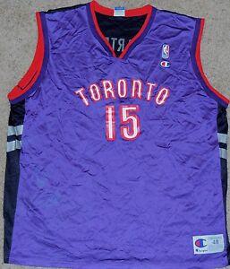 380e6887a Image is loading Vince-Carter-Champion-Vintage-Toronto-Raptors-NBA- Basketball-
