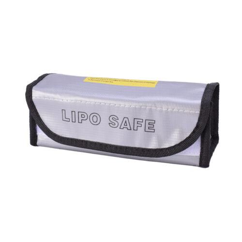 185x75x60mm explosionsgeschützte tragbare Akku-Schutztasche RC Lipo Battery Bag