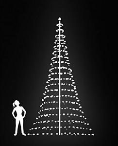 Flagpole Christmas Tree 20ft 7350054330084 Ebay