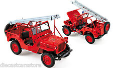1988 FIRE DEPARTMENT JEEP VEHICLE 1/18 DIECAST MODEL CAR BY NOREV 189012