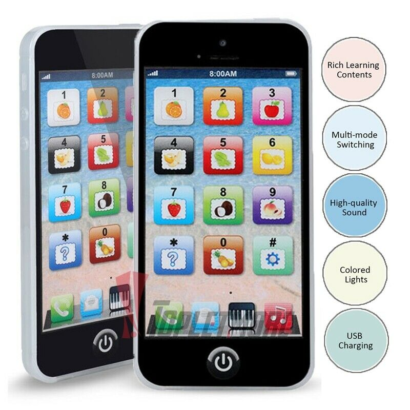 1 2 Year Old Toddler Learning Voice Activity Baby iPhone Tablet Educational Toys