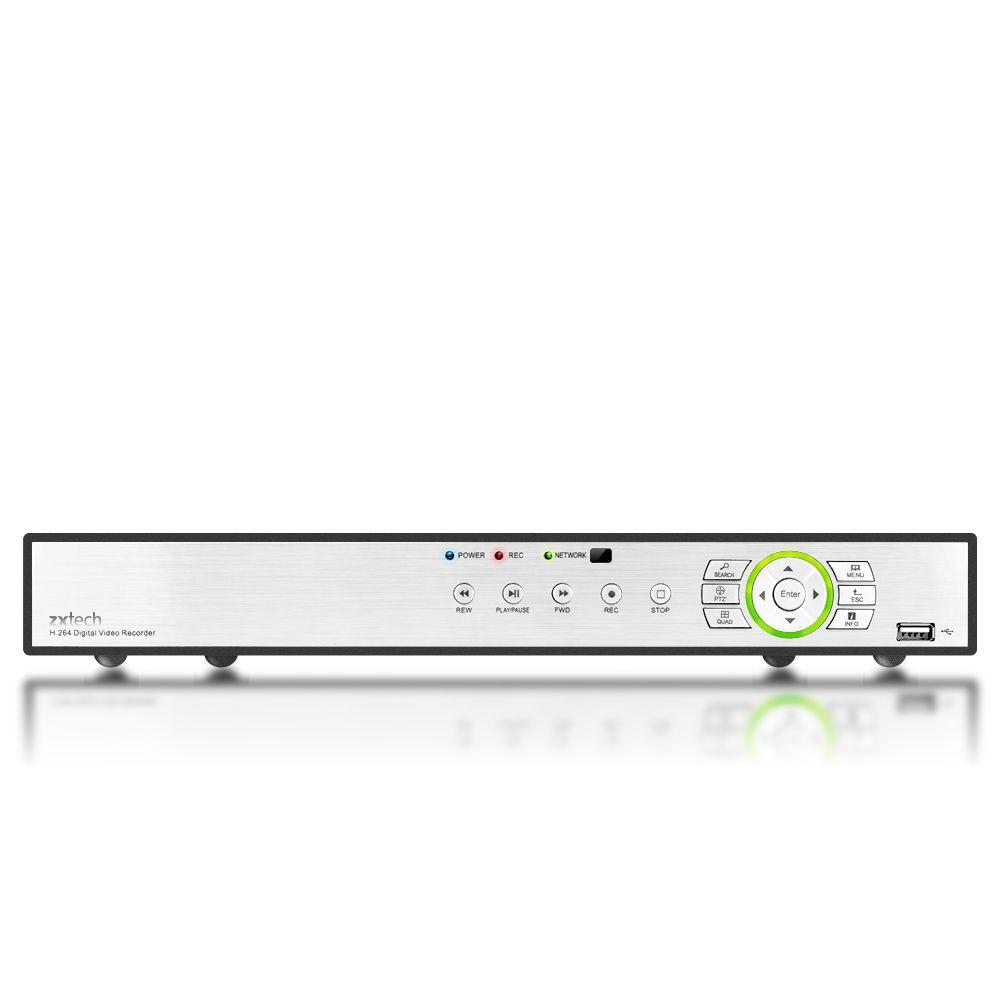 16 Chaîne HD 720P Mégapixel AHD IP Hybrid R22 QR échographie