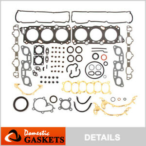 Fits 90-97 Nissan 300ZX Turbo Infiniti J30 3.0L Full Gasket Set VG30DE VG30DETT