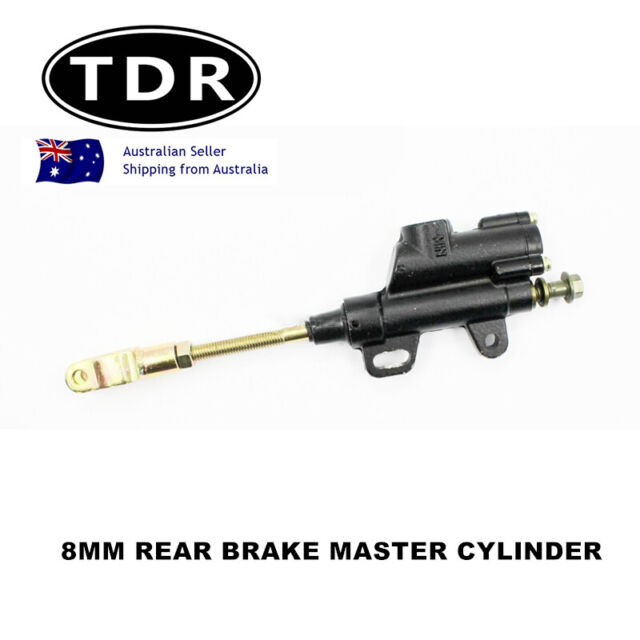 125cc 110cc BLACK REAR PIT DIRT BIKE HYDRAULIC BRAKE MASTER CYLINDER PITBIKE 8mm