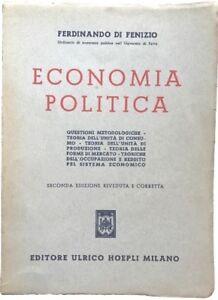 Economia-politica-Ferdinando-di-Fenzio-Ulrico-Hoepli-1951