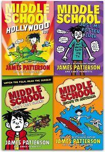 James Patterson Middle School Series 2 Collection 4 Books Set Paper