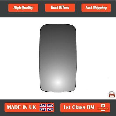 Left hand passenger side for Renault Mascott 1999-2010 heated wing mirror glass
