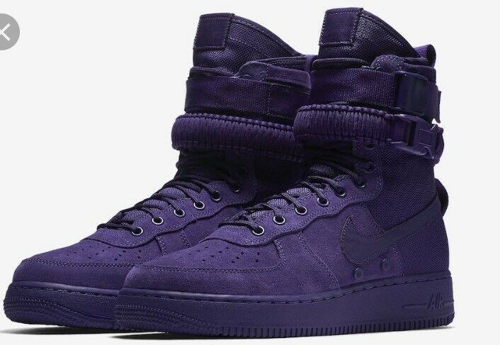 Nike Special Force Air Force 1 Court Purple 864024 500 Uomo Size 4 Prm SF AF1