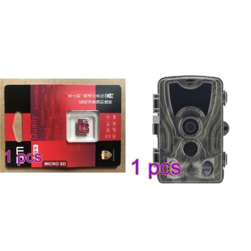 Wildkamera Jagdkamera 1080P HD 20MP Wasserdicht Fotofalle 20M//65 Nachtsicht 120°
