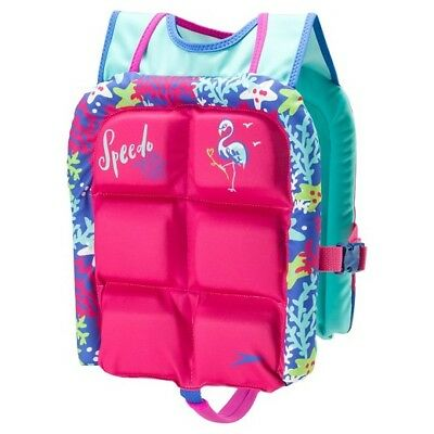 Speedo Kids Water Skeeter Lifevest (Pink) 51541248 life ...