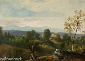 Asher Brown Durand  A View of the Valley Giclee Canvas Print