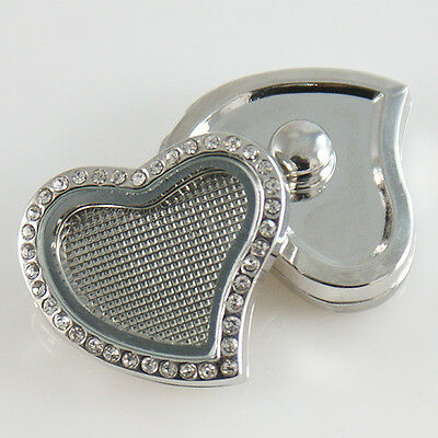 Snapit Floating locket Button Charm Fit Snaps Style Jewelry