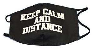 Alltagsmaske-Mundbedeckung-Nasenschutz-Behelfsmaske-Motivmaske-schwarz-Keep-Calm