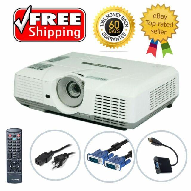 Panasonic PT-LB50NTU LCD Projector 2000 ANSI Portable HD HDMI-adapter w//Remote