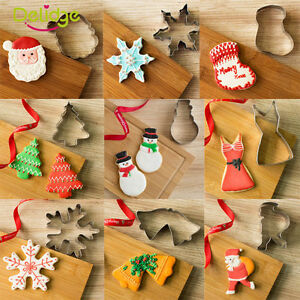 Good Christmas Stainless Steel Biscuit Pastry Cookie Cutter Cake Decor Mold Tool