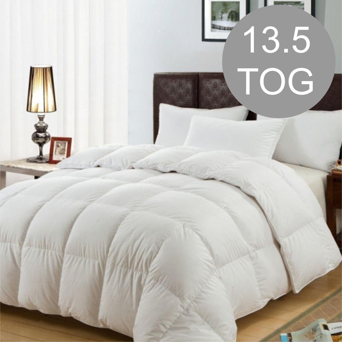 13.5 TOG Microfiber High Quality Duvet Quilt Bedding Set Just like Down S.King
