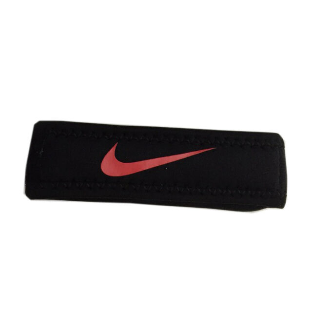 compras salida online brillo de color Nike Patella Band 2.0 [NMN14020SM] Black/Red Size S/M for sale online