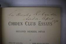 1872 Signed SIR HERCULES ROBINSON Governor Hong Kong CEYLON New South Wales FIJI