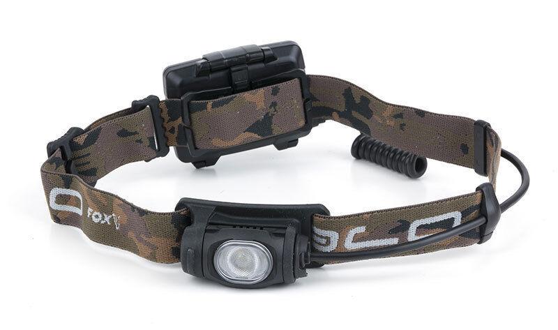 Fox Halo AL320 Ausrüstung Scheinwerfer Stirnlampe Karpfenangeln Ausrüstung AL320 9ff663