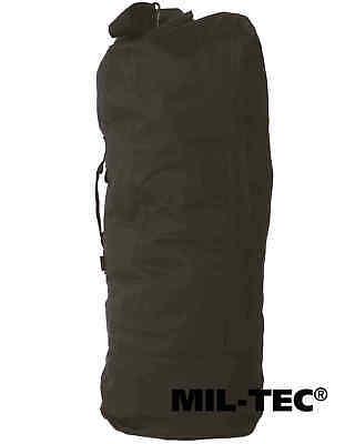 Mil-Tec US Seesack mit Doppelgurt PES Armee Transportsack Outdoor Rucksack 75 L