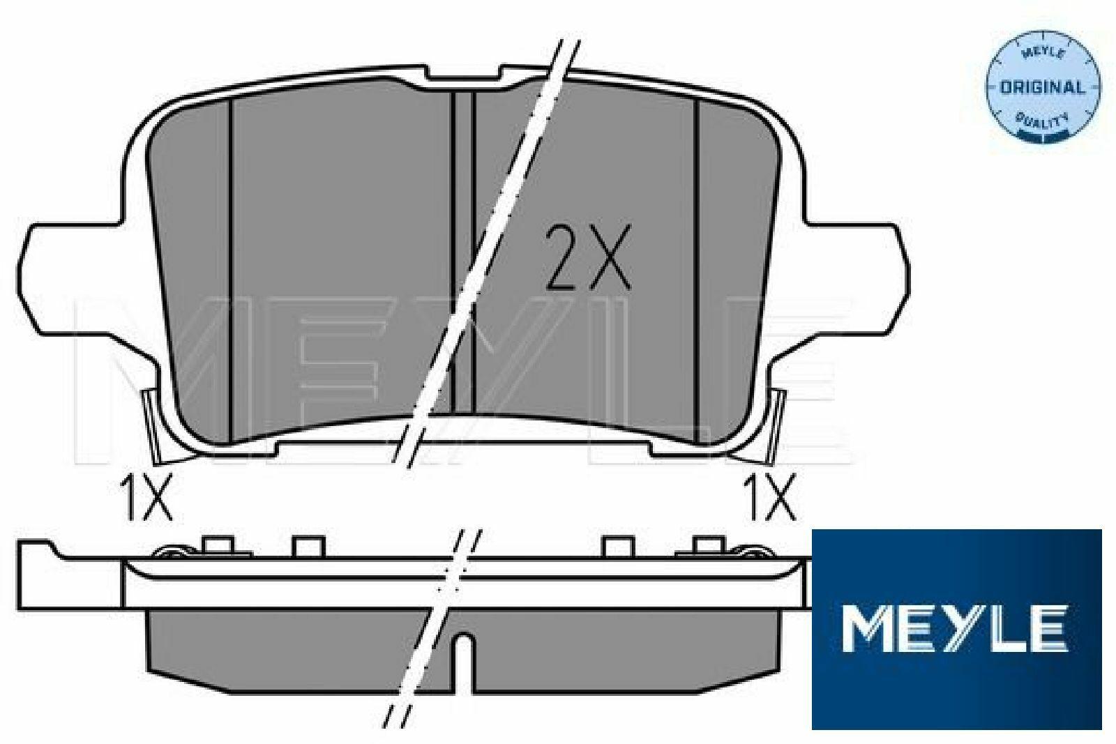 BLUE PRINT ADW194221 Bremsbeläge Bremsbelagsatz für OPEL