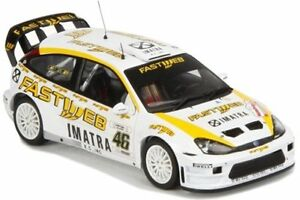 IXO-RAM164-TOYOTA-RAM255-FORD-FOCUS-model-cars-Monza-Rally-V-Rossi-2004-06-1-43