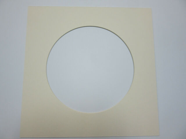 Picture Frame Mat Round Opening 12x12 Mat With 8 Inch Circle Warm