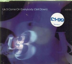 US3CD SingleCome on EverybodyNew - London, United Kingdom - US3CD SingleCome on EverybodyNew - London, United Kingdom