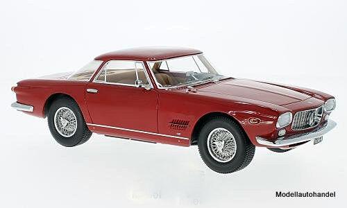 MASERATI 5000 GT ALLEMANO 1960 ROSSO 1 18 BOS