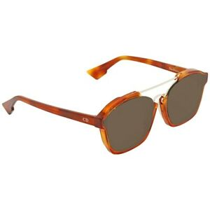 NEW-CHRISTIAN-DIOR-SUNGLASSES-ABSTRACT-0562M-58-DEMI-BLONDE-BROWN