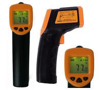 Hde Digital Infared Temperature Laser Surface Thermometer Gauge Reader Gun
