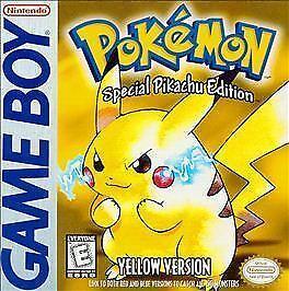Buy Pokémon Yellow Version Special Pikachu Edition Nintendo