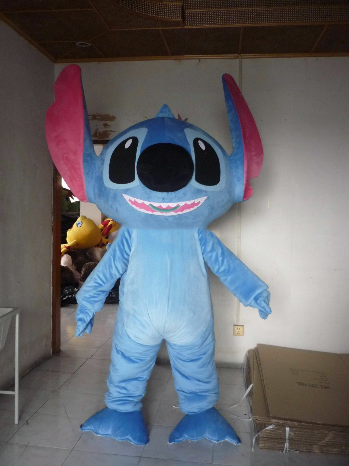 Stitch Of Lilo Stitch Mascot Costume Halloween Party Game Dress Adults Outfit For Sale Online Ebay