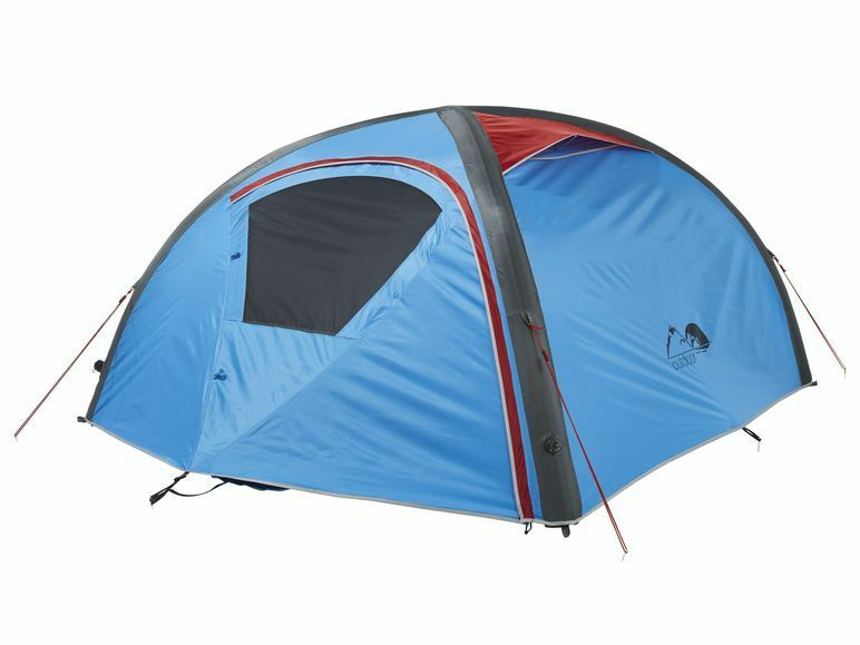 2 Personen Zelt Campingzelt Strand Trekkingzelt Doppelhubpumpe Aufblasbar mit Doppelhubpumpe Trekkingzelt c10cb7