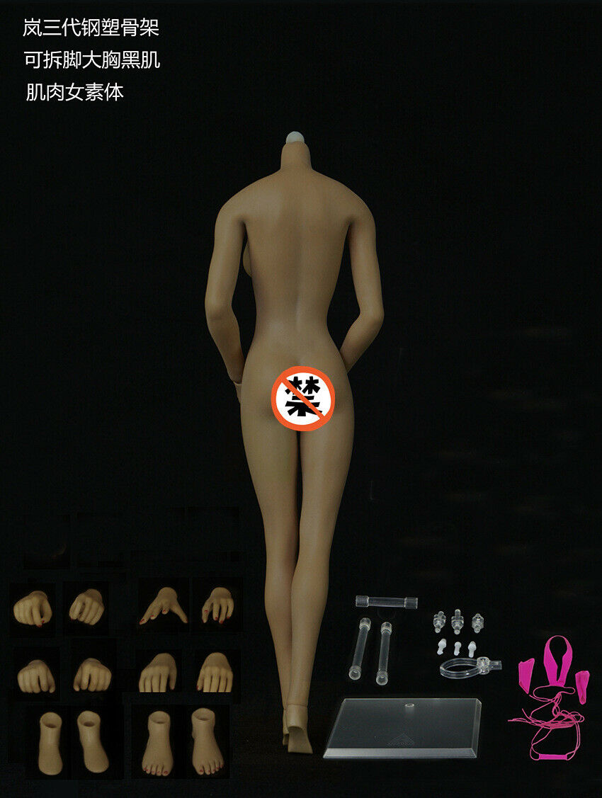 JIAOU DOLL JOQ-10E 1 6 European Female Body Model Big Big Big Bust Dismantle Foot Figure 163351