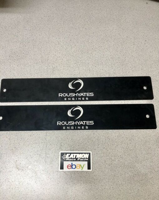 Nascar Roush Yates Engines Aluminum Block Off Plates Exhaust Intake Covers