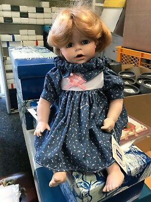 Dolls & Bears Top Zustand Generous Künstlerpuppe Porzellan Puppe 36 Cm