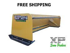 8 Skid Steer Pullback Snow Pusher Bobcat Case Caterpillar Free Shipping Xp24